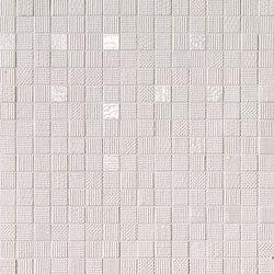 Milano&Wall Bianco Mosaico | Ceramic mosaics | Fap Ceramiche