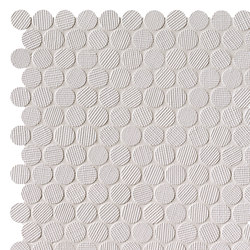 Milano&Wall Bianco Round Mosaico | Mosaici ceramica | Fap Ceramiche