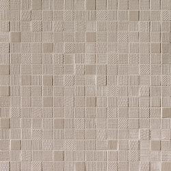 Milano&Wall Tortora Mosaico | Ceramic mosaics | Fap Ceramiche