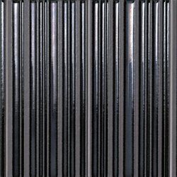 Milano&Wall Righe Metal Moka Inserto | Keramik Fliesen | Fap Ceramiche