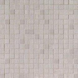 Milano&Wall Grigio Mosaico | Ceramic mosaics | Fap Ceramiche
