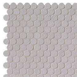 Milano&Wall Grigio Round Mosaico | Mosaicos de cerámica | Fap Ceramiche