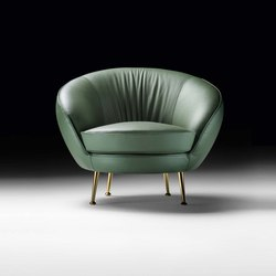 Giulia Armchair | Sessel | black tie