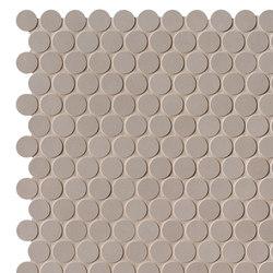 Milano&Floor Tortora Round Mosaico Matt | Mosaïques céramique | Fap Ceramiche