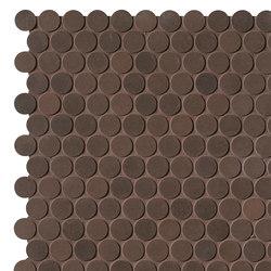 Milano&Floor Corten Round Mosaico Matt | Ceramic mosaics | Fap Ceramiche