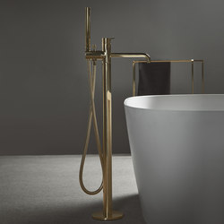 Code Floor-mounted bathtub mixer | Bath taps | Inbani