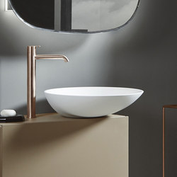 Forma Top Mounted Solidsurface H15 Washbasin | Wash basins | Inbani