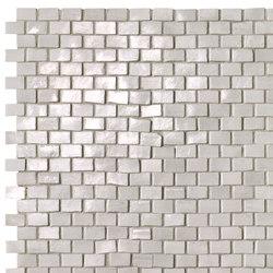 Brickell White Brick Mosaic Gloss | Mosaici ceramica | Fap Ceramiche