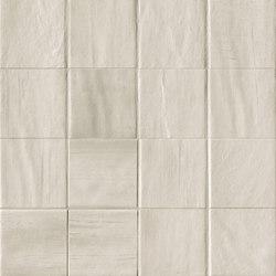 Brickell White Macromosaico Matt | Ceramic mosaics | Fap Ceramiche