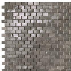 Brickell Grey Brick Mosaic Gloss | Mosaïques céramique | Fap Ceramiche