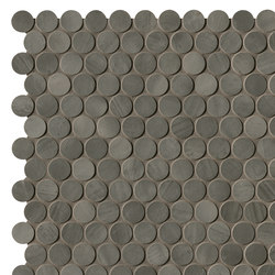 Brickell Grey Round Mosaico Matt | Mosaici ceramica | Fap Ceramiche