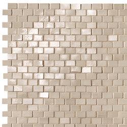 Brickell Beige Brick Mosaic Gloss | Mosaici ceramica | Fap Ceramiche