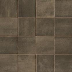 Brickell Brown Macromosaico Matt | Ceramic mosaics | Fap Ceramiche
