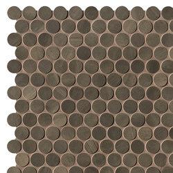 Brickell Brown Round Mosaico Matt | Mosaici ceramica | Fap Ceramiche