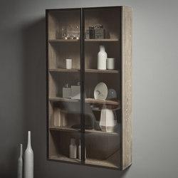 Strato Cabinet Mirror Aluminium glass door system | Wall cabinets | Inbani