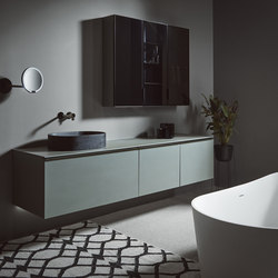 Strato Bathroom furniture set_01 | Wash basins | Inbani