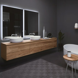 Strato Bathroom furniture set_04 | Wash basins | Inbani