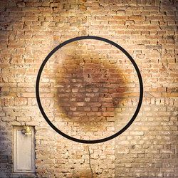 Framed wall circle suspension | Wandleuchten | Jacco Maris