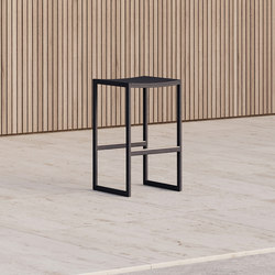 Eos | Backless Bar Stool | Taburetes de bar | Case Furniture