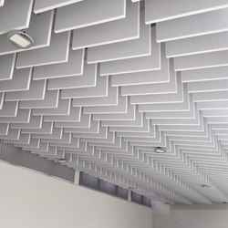 da baffle single | Acoustic ceiling systems | SPÄH designed acoustic