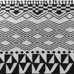 Juniper | Black & White | Rugs | Miinu