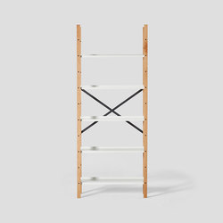 Croquet Freestanding Shelving 5 Shelf | Shelving | VG&P
