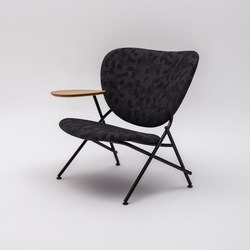 Calder Armchair with wooden side table | Armchairs | Comforty