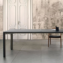 Gregorio Table | leather | Tavoli pranzo | mg12