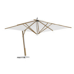 Cool Umbrella with lateral structure | Parasols | Atmosphera