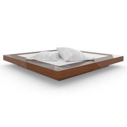 BED II special edition - Precious wood mahogany | Beds | Rechteck