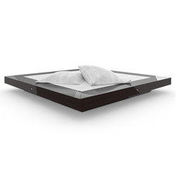 BED II special edition - Precious wood Makassar | Beds | Rechteck