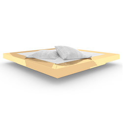 BED II special edition - Gold | Beds | Rechteck