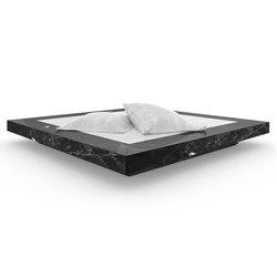 BED II special edition - Marble black | Beds | Rechteck