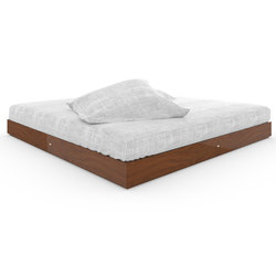 BED IV special edition - Precious wood mahogany | Beds | Rechteck