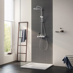 Euphoria SmartControl System 260 Mono with thermostat for wall mounting | Shower controls | GROHE