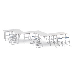 m.zone hot desk | Contract tables | Wiesner-Hager