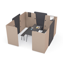 m.zone meeting box | Privacy screen | Wiesner-Hager