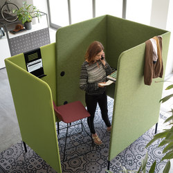 m.zone phone box | Sound absorbing architectural systems | Wiesner-Hager