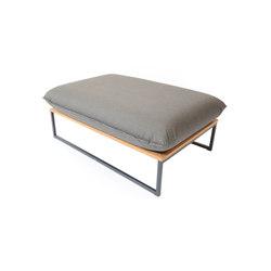 Flora Lounge Bench | Pouf | Fischer Möbel