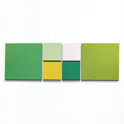 Acoustic tiles PUR12 | Sound absorbing wall systems | AOS