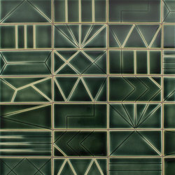 InLine A, B, C, D, E, F, G, H, I, J, K,L | Ceramic tiles | Pratt & Larson Ceramics