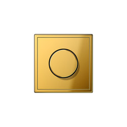 LS 990 rotary dimmer gold | Rotary switches | JUNG