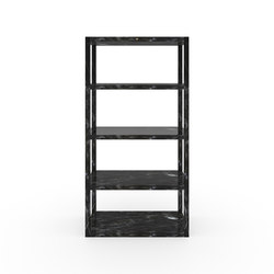 SHELF II-IV-I special edition - Marble black | Shelving | Rechteck