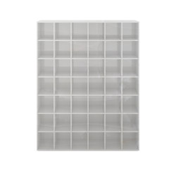 SHELF III special edition - Marble white | Shelving | Rechteck