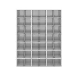MENSOLA III edizione speciale - piano laccato bianco | Scaffali | Rechteck