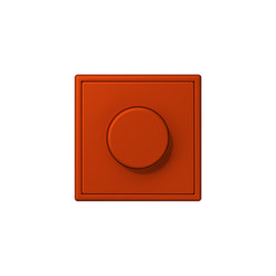 LS 990 in Les Couleurs® Le Corbusier rotary dimmer 4320A rouge vermillon 59 | Interruttori manopola | JUNG
