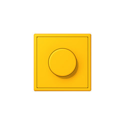 LS 990 in Les Couleurs® Le Corbusier | rotary dimmer 4320W le jaune vif | Rotary switches | JUNG
