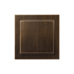 LS Design switch antique brass | Interruttore bilanciere | JUNG