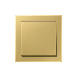 LS Design | switch classic brass | Two-way switches | JUNG