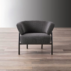 Nanì Small Armchair | Poltrone | Meridiani